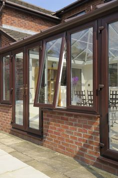 Lean-To Conservatories At Low-Cost Prices In Hampshire Timber Windows, Upvc Windows, Lean To Conservatory, Winchester Hampshire, Window Replacement, Conservatories, Wood Grain, Home Improvement, Doors