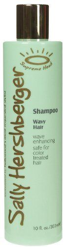 Sally Hershberger Shampoo, Wavy Hair 10 fl oz (300 ml) by Sally Hansen. Save 37 Off!. $6.50. Cleanses while moisturizing and texturizing  Increases flexibility Contains Supreme Wave Enhancing Complex to create voluptuous curves Formulated for color treated hair African Baobab Tree extract  a natural bio polymer detangles and moisturizes hair Quaternized Honey  naturally hydrates coats and soothes to enhance waves and control frizz Brown Algae extract  provides a moisture seal...