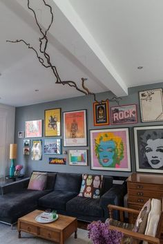 What we have here is a dozen unabashed, Warhol- and Lichtenstein-inspired rooms that would look right at home in a pop art museum as they do inside these homes. If you love bright colors and retro styling, get thee to Pinterest and save these shots for later. It's part aspiration and part inspiration. As big and bold as these rooms are, there are some pretty do-able ideas in here.