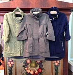 Fillmore anorak jackets - perfect for fall!