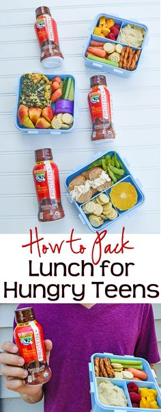 How to Pack Lunch for Hungry Teens - Need more food options for lunches? Here are tips on how to pack lunch for hungry teens. These tips are teen tested and approved! AD #lunch #teens