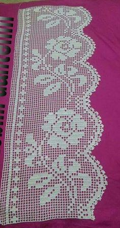 Easiest Crochet Frills Border Ever! Crochet Edging Patterns, Filet Crochet Charts, Crochet Lace Edging, Crochet Borders, Crochet Squares, Thread Crochet, Crochet Doilies, Crochet Flowers, Crochet Stitches