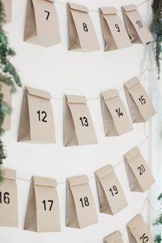 DYI, Pomysły na kalendarz adwentowy - Pomysły na kalendarz adwentowy.