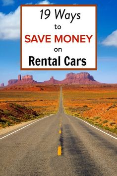 19 Ways to Save Money on Cheap Rental Cars