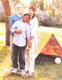 Gary Tobin, Jonah Tobin, Diane Tobin in Jewish Living Magazine, 2008