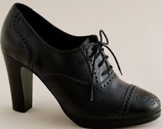 Finally bought myself a pair of Oxford heels. This might be the dawning of a new era.
