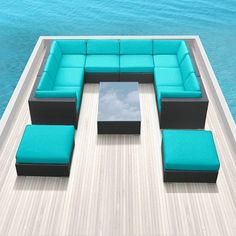 modern patio sectional sofas and couch set on pinterest amazoncom patio furniture