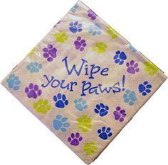 Dog Party Napkins (16 napkins)  http://www.k9cakery.com/?affid=63