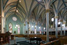 Fig. 6. Dundas, St Augustine's Roman Catholic Church, interior from S transept.