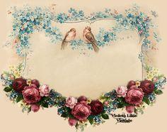 Violeta lilás Vintage