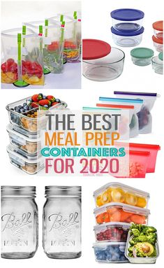 Meal prep containers don't have to be complicated! Here are the best containers on the market - just the basics nothing fancy or expensive. Good Healthy Recipes, Healthy Meal Prep, Whole 30 Recipes, Eating Healthy, Delicious Recipes, Healthy Food, Best Meal Prep Containers, Food Containers, Bento