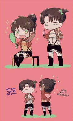 Eren and levi funny