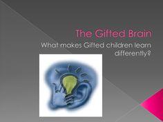 the-gifted-brain by Jessica Barrington via Slideshare