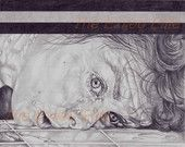 Pencil drawn alternative Psycho poster