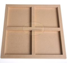 Craft Cardboard Quad Frame - £1.75 - A Great Range of Boxes and Containers from craftydevilspapercraft.co.uk