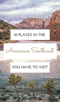 10 Places in the Ame