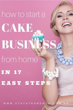 How To Start A Cake Business From Home | Stay At Home Mum