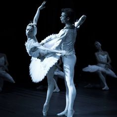 Yekaterina Krysanova and Artem Ovcharenko, Swan Lake, Bolshoi Ballet at The Royal Opera House, London, England Source and more info at: Photographer David Makhateli