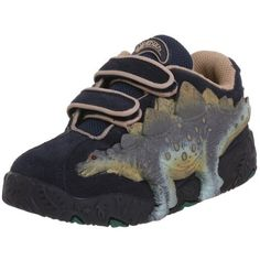 Dinosoles Stegosaurus X-10 Shoe (Toddler/Little Kid) Dinosoles. $39.95. Synthetic and textile. Dinosaur's eyes light up!. Rubber sole