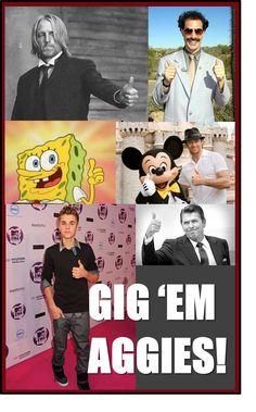 GIG EM AGGIES!!!