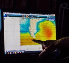 Wind Map, 3/22/14 #Weather #Wind #Southern_Ocean