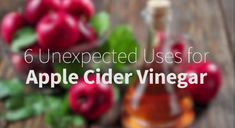 If you think that apple cider vinegar is only good for cooking, we advise you to think again! Here are 6 great additional uses.
