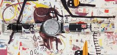 Jean Michel Basquiat x KOMONO Watches | Man of Many
