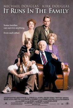 It Runs in the Family , starring Kirk Douglas, Michael Douglas, Bernadette Peters, Rory Culkin. This is the story of a dysfunctional New York family, and their attempts to reconcile. #Comedy #Drama #Romance