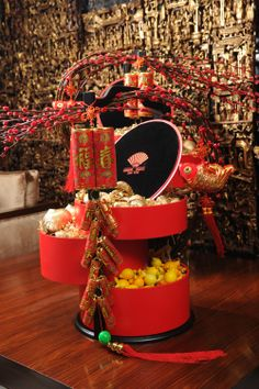 CNY Hampers 2014 at Mandarin Oriental, Hong Kong.