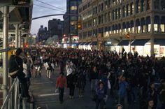 Trayvon Martin Million Hoody March in New York City.
