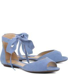 82710b37e Flat Ballerina Jeans   Schutz. Sandálias RasteirasSapatilhasSapatosSaltos  ...