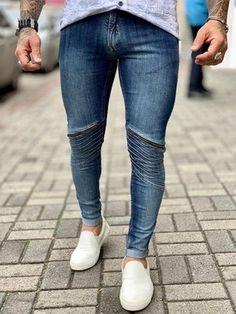 415ab9683 39 melhores imagens de Calças Jeans Masculinas