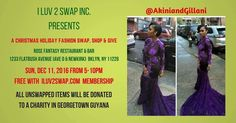 Come tru Akini & Gilliani. Get your one of a kind pieces at our Christmas Holiday Fashion Swap Shop & Give! Click link in bio