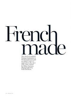 Drake Burnette by Will Davidson for Vogue Australia February 2014 _