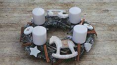 Dekorácie - Adventný veniec s koníkmi - 6021511_