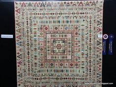 Tazzie Quilts: Mrs Billings Coverlet