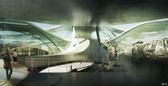 Aviation Museum - Archiprix Turkey 2015 Winning Project on Behance