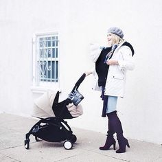 @livingnotes with her #BabyZen stroller. shop our feed by visiting our bio link.