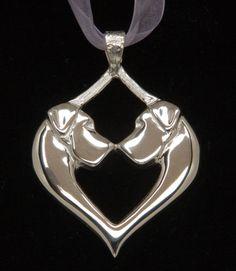 Beautiful Great Dane pendant! Originally designed for the 2006 Great Dane National Specialty.