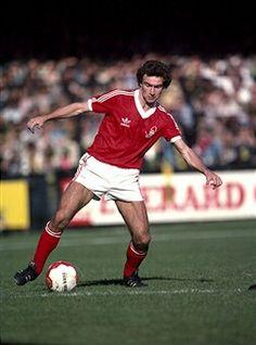 Martin O 'Neill of Nottingham Forest in 1979.