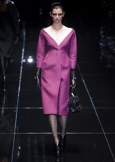 Les années 40. Défilé de #Gucci, collection automne-hiver 2013-2014.