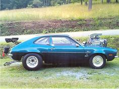 1972 FORD PINTO 347 Stroker, 871 Weland super charger, NOS....aka really, really fast