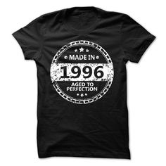 MADE IN 1996 AGED TO PERFECTION CIRCLE T Shirt, Hoodie, Sweatshirt