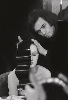 Serge Lutens styling model, Isabelle Weingarten,... - OXIDE JOYRIDE | oxide-joyride