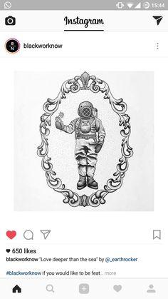 Astronaut Tattoo, Tattoos, Cards, Instagram, Tatuajes, Tattoo, Maps, Playing Cards, Tattos