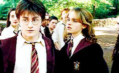That time his disdain literally spilled over and possessed the nearest human form. | 22 Times When Harry Potter's Bitch Face Was Better Than Yours