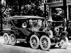 1910 Reeves Octauto 8-wheel Tourer