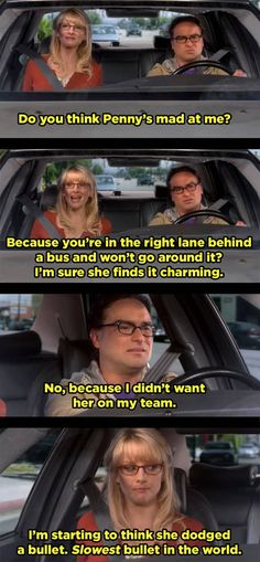 Big Bang Theory Quotes, The Big Theory, Big Bang Theory Funny, Dodged A Bullet, The Bigbang Theory, Friday Humor, Funny Friday, Grumpy Cat Humor, Meme Comics