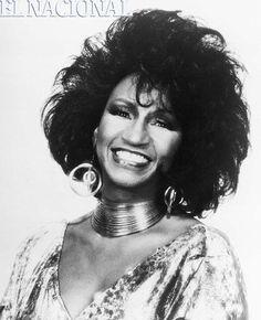 Celia Cruz, cantante cubana.  Foto: (Archivo / El Nacional)