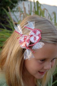 Felt Christmas Peppermint  Clip PDF Pattern by sewlovetheday, $3.00